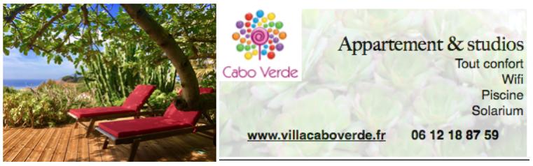 Réservez votre séjour à la Villa Cabo Verde sur l'île du Levant !  Domaine naturel et Naturiste